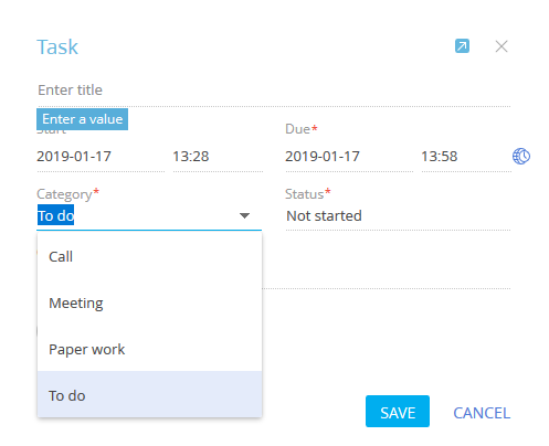 Type Of Calendar Items Created Through Bpm Online To Outlook Community Creatio 25 december is christmas day. type of calendar items created through